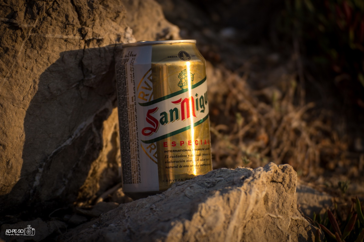 San Miguel in the sun